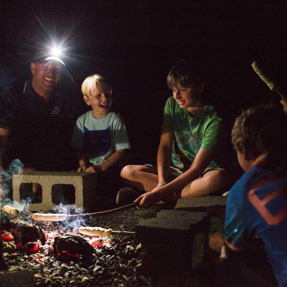 campfire-damper