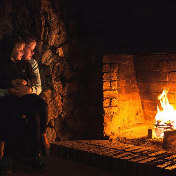 forestry-hut-fireplace