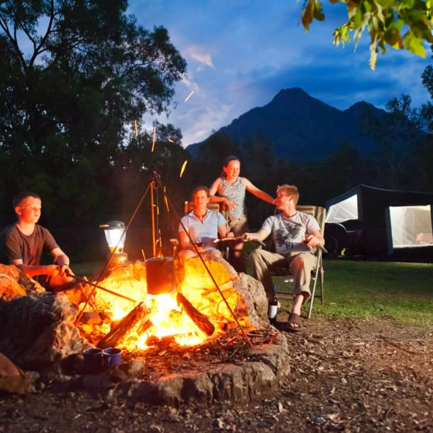 glamping-campfire-mt-barney
